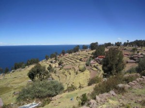 043 Puno-Lac Titicaca-île Taquile 27-09-2015